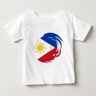 Philippines Flag Baby T-Shirt