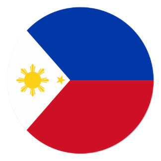 Philippines Flag Card
