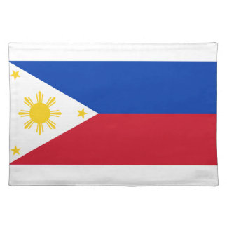 Philippines Flag Cloth Placemat
