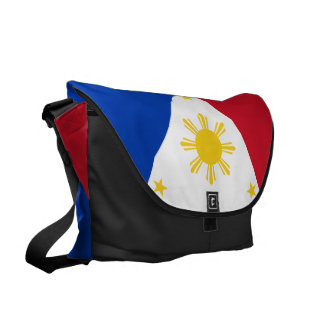 Philippines Flag Courier Bag