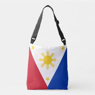 Philippines Flag Crossbody Bag