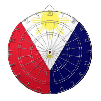 Philippines Flag Dart Board