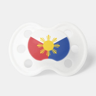 Philippines Flag Elements Pacifier