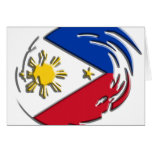 Philippines FLag Greeting Cards