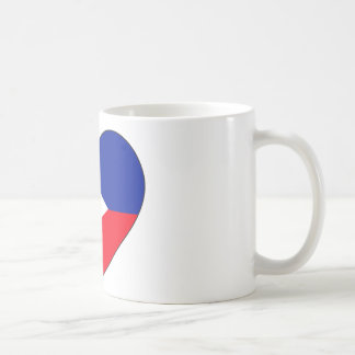 Philippines Flag Heart Coffee Mug