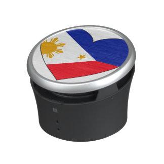 Philippines Flag Heart Speaker