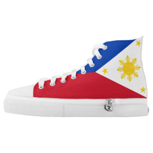 7676451403 Philippines Flag High-Top Sneakers