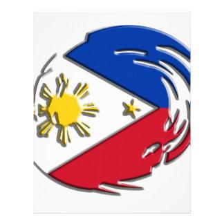 Philippines FLag Letterhead