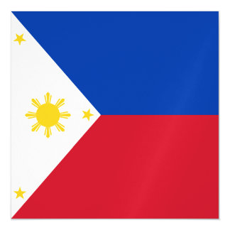 Philippines Flag Magnetic Card