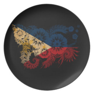 Philippines Flag Party Plate