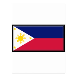 Philippines Flag Post Card