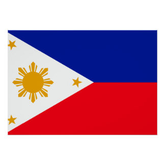Philippines Flag Poster
