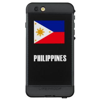 Philippines Flag Simple Dark LifeProof NÜÜD iPhone 6s Plus Case