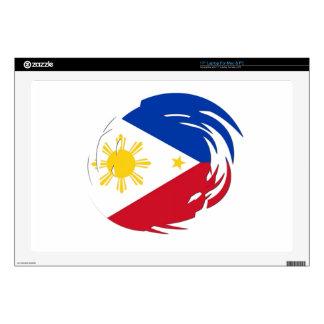 Philippines Flag Skin For Laptop