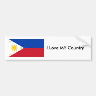 Philippines Flag The MUSEUM Zazzle Bumper Sticker