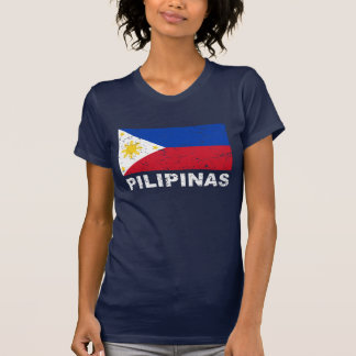 Philippines Flag Vintage T-Shirt