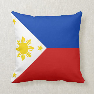 Philippines Flag x Flag Pillow