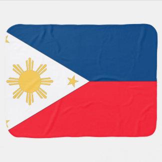 Philippines Flag Stroller Blanket
