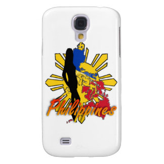 Philippines Girl Design Galaxy S4 Cover