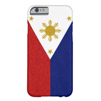 Philippines Glitter Flag Barely There iPhone 6 Case