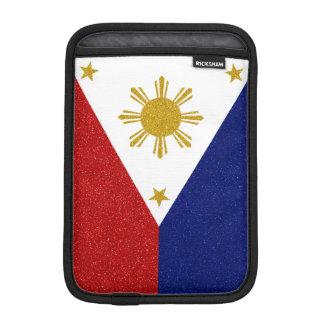 Philippines Glitter Flag iPad Mini Sleeve