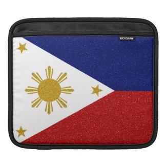 Philippines Glitter Flag iPad Sleeve