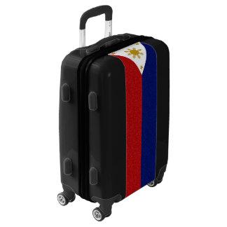 Philippines Glitter Flag Luggage
