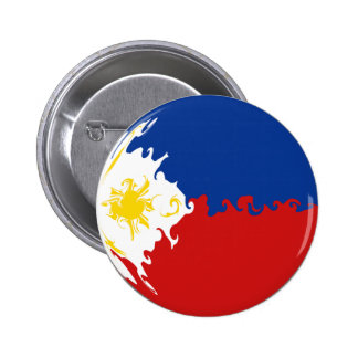 Philippines Gnarly Flag Buttons