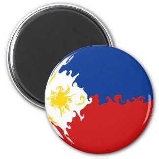Philippines Gnarly Flag Magnet