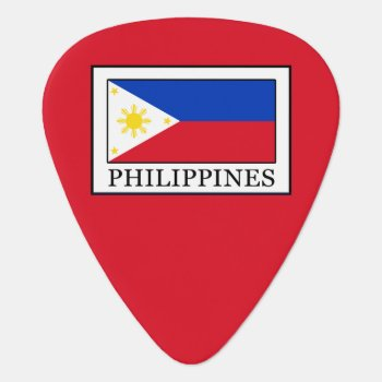 Philippines Guitar Pick by KellyMagovern at Zazzle