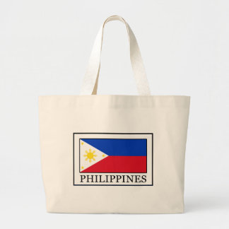 Philippines Large Tote Bag
