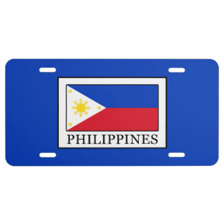 Philippines License Plate