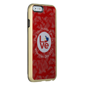 Philippines LOVE White on Red Incipio Feather Shine iPhone 6 Case