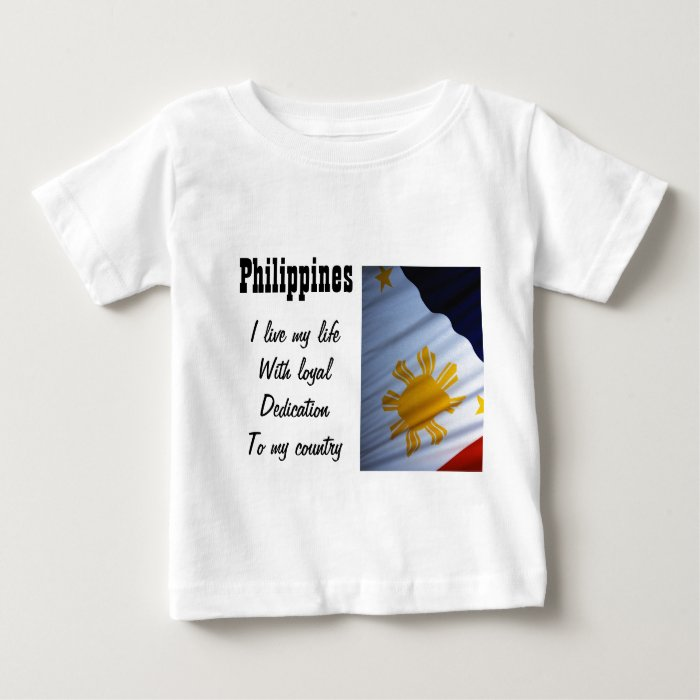 Philippines-loyalty to my country t-shirts