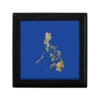 Philippines Map Gift Box