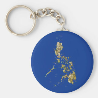 Philippines Map Keychain