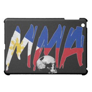 Philippines MMA Skull Black iPad Case