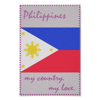 Philippines My Country My Love Poster