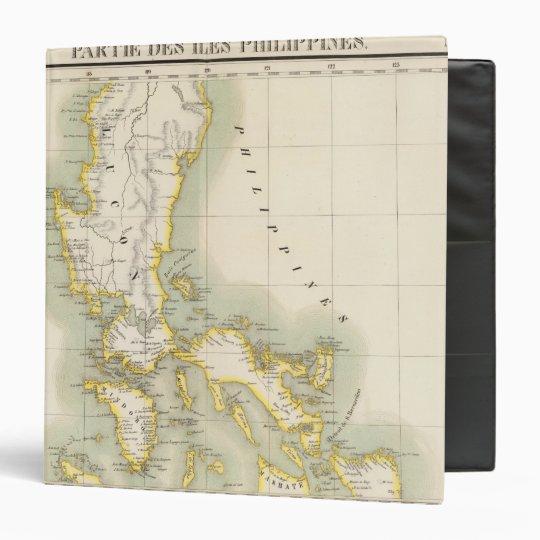 Philippines Oceania no 4 3 Ring Binder