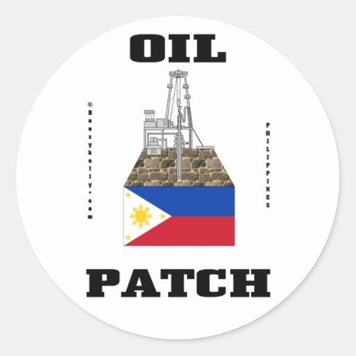 Philippines Oil Fields Sticker,Oil Rig,Oil,Derrick