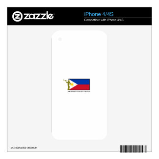 PHILIPPINES OLONGAPO MISSION LDS CTR SKINS FOR iPhone 4
