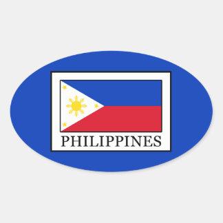 Philippines Oval Sticker