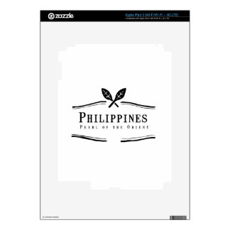 Philippines Pearl of the Orient iPad 3 Skins
