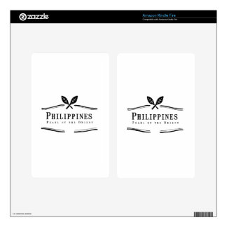 Philippines Pearl of the Orient Kindle Fire Skin