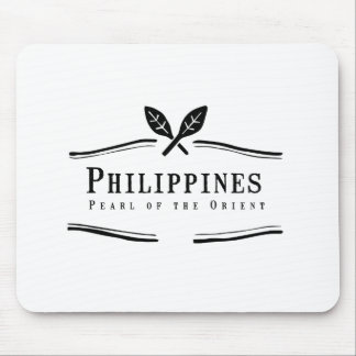Philippines Pearl of the Orient Mouse Pad