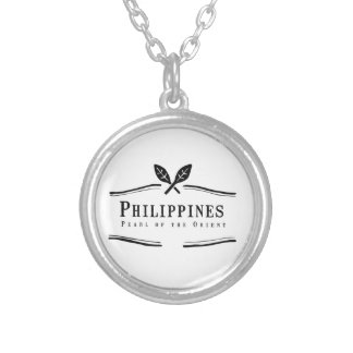 Philippines Pearl of the Orient Silver Plated Necklace
