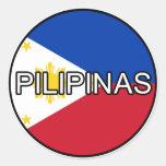 Philippines Pilipinas Euro Sticker
