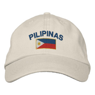 Philippines Pilipinas Flag Baseball Cap