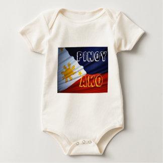 philippines pinoy ako baby bodysuit