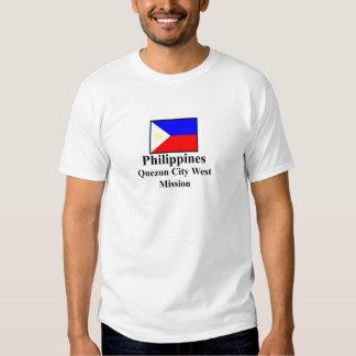 Philippines Quezon City West Mission T-Shirt